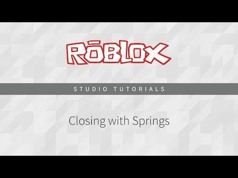 Making A Door Springs Make A Door Roblox Water Wheel