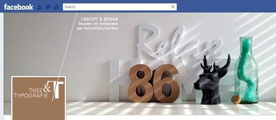 Facebook header Thee & Typo #tent https://www.facebook.com/tentypografie