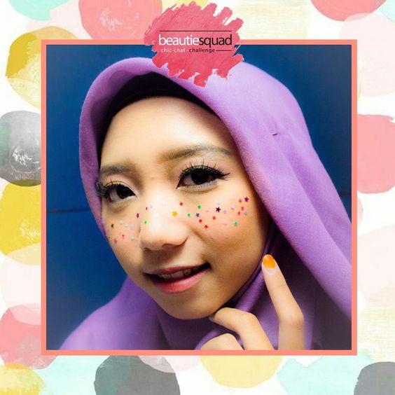 Khoirunisida Freckles Makeup