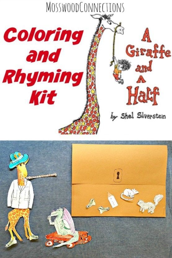 A Giraffe And A Half Rhyming Kit Activities Book Activities