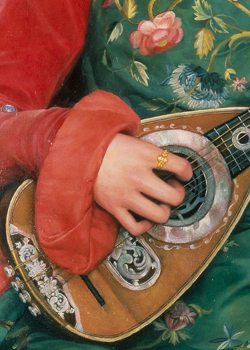 Melody by Kate Elizabeth Bunce, 1895 (detail):