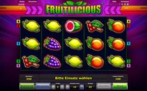 fruitilicious gambling for free 100 Euro gaming www.automaten.club/novoline/go