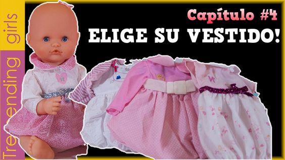 De compras para la bebé Luci ¡Elige su vestido! Capítulo #4 - Nenuco jug...