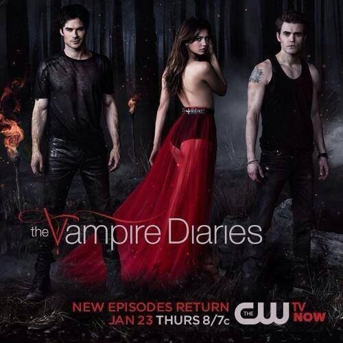 Image result for the vampire diaries season 5 poster