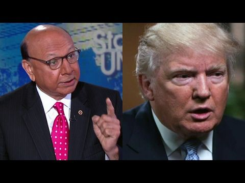 MSNBC News 2/4/17 Khan Calls Out Trump: 'Your Children's Mothers Are Imm...