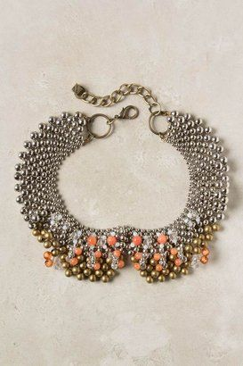 Anthropologie Sparked Agate Bib, $58 Necklace