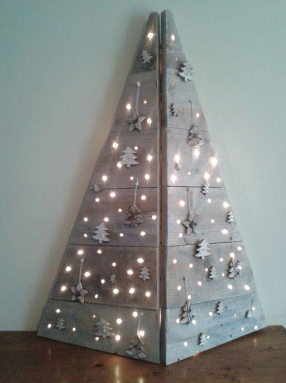 Mejores ideas sobre decoraci n navidad dulce navidad y - Arboles de navidad creativos ...