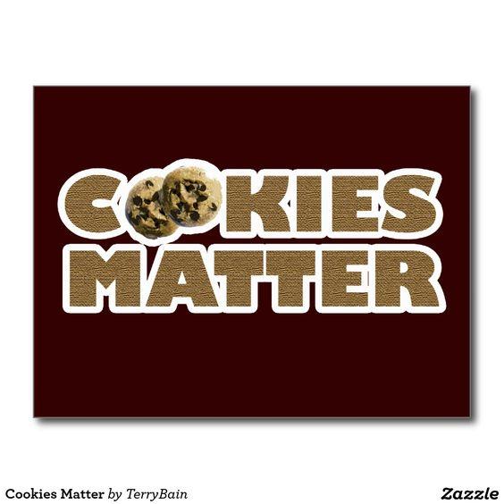 Cookies Matter Postcard