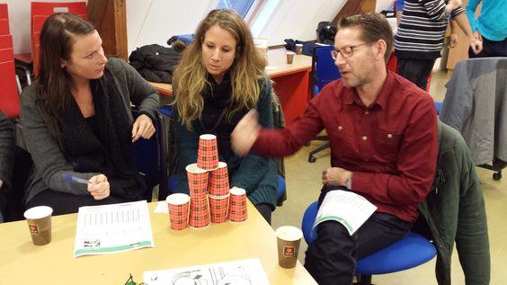 Workshop CodeKinderen tijdens de studiemiddag van ICT coordinatoren op het RVKO in Rotterdam. 19 november 2014.