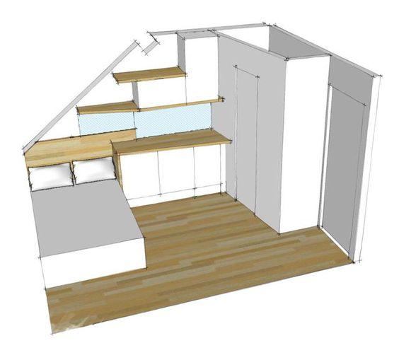 Aménagement studio Paris : 10m2 fonctionnels | Studio, Apartments ...