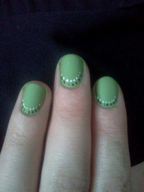 Painted my nails with Migi Nail Art.