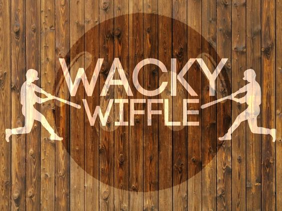 wacky wiffle - VARIATIONS OF WIFFLEBALL to play with students