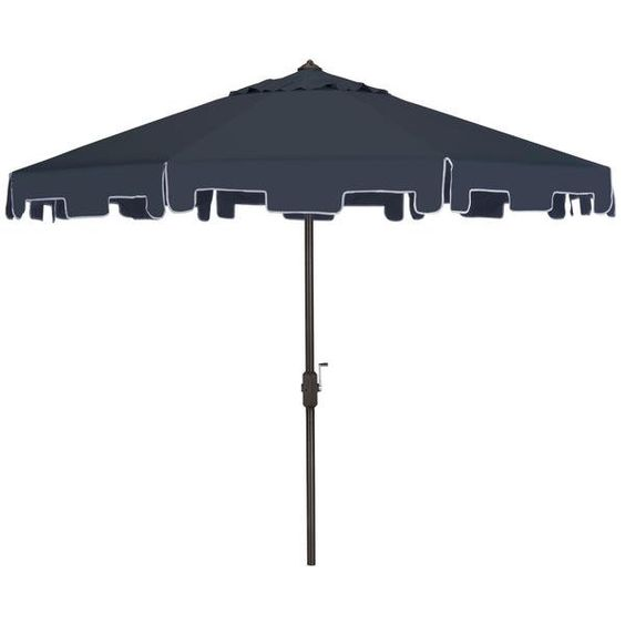 Nine Throwback Umbrellas For The Pool And Patio These Old School Shade Suppliers Are Equal Parts Practical And P Patio Umbrella Market Umbrella Patio Umbrellas