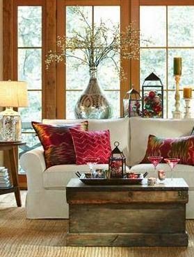 Cold weather other and the flowers on pinterest for Bay window sill ideas