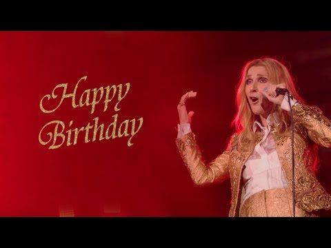 Celine Dion Sings Happy Birthday To You 2011 Vs 2019 Happy Birthday Celine Youtube In 2020 Happy Birthday Greetings Happy Birthday Queen Birthday