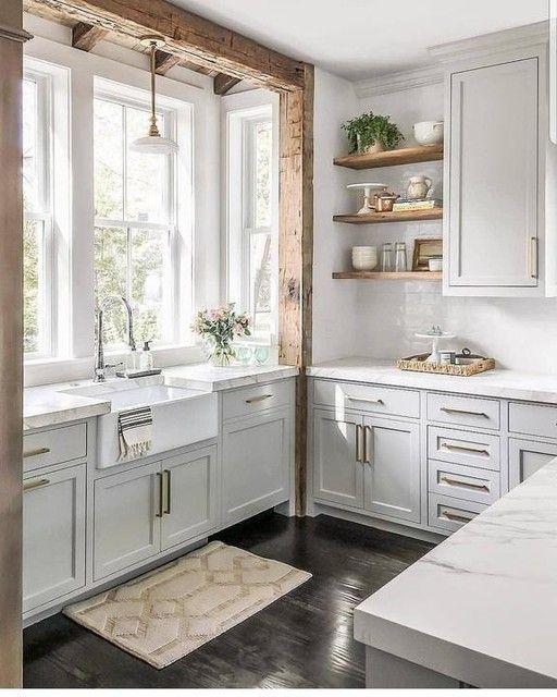 Edgecliff Pull Natural Brass Small Kitchen Ideas Brass Edgecliff Natural Pull Luxury Kitchens Brass Edgecli Kitchen Remodel Small Kitchen Layout Kitchen Design