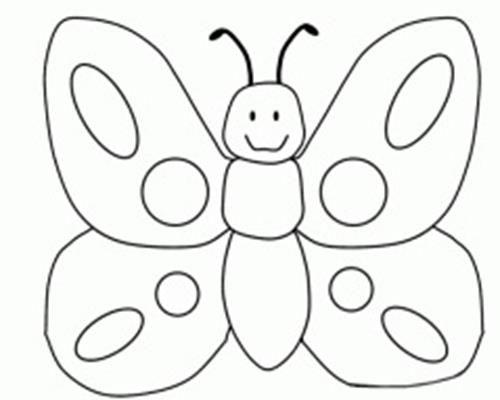 Download Gambar Mewarnai Kupu Kupu Warna Gambar Dan Serangga
