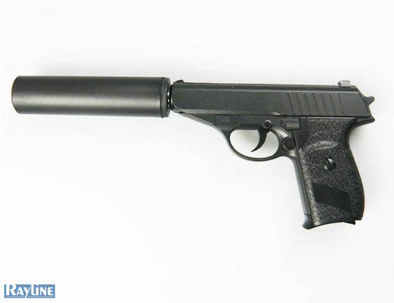 Softair Pistole Metall Federdruck G3A Black Metal Gun