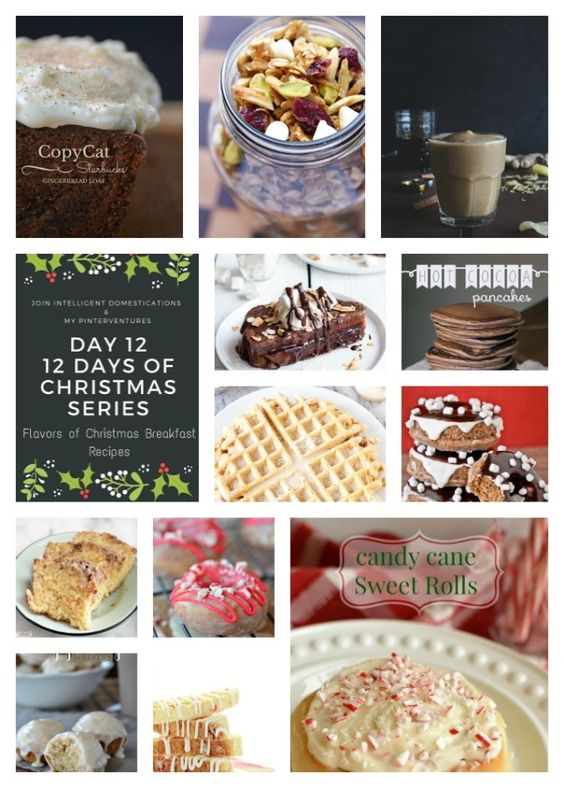 Share Tweet + 1 Mail It's Day 12 of our 12 Days of Christmas 2015! Today we are sharing 12 Flavors of Christmas Breakfast ...