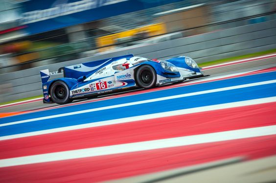 Dyson Racing #Mazda-powered LMP1 car.