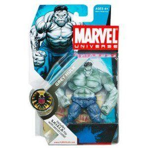 "Marvel Universe 3 3/4"" Series 2 Action Figure Grey Hulk"
