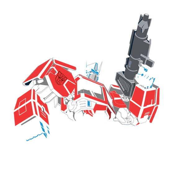 Awesome 'Transformers+-+Optimus+Prime' design on TeePublic!