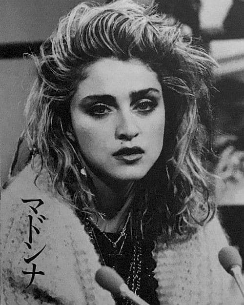 Madonna 80s Queen On Instagram During The Like A Virgin Album Promo Tour Of Japan February 1985 Ma Madonna 80s Madonna Photos Madonna Pictures
