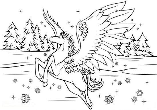 Pegasus Ausmalbilder Malvorlagen Pferde Malvorlagen Tiere Ausmalbilder