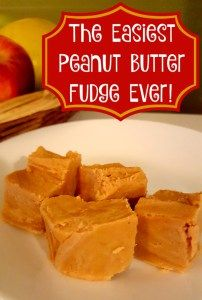 The Easiest Peanut Butter Fudge Ever