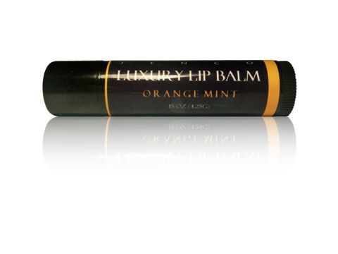 Orange Mint Luxury Lip Balm