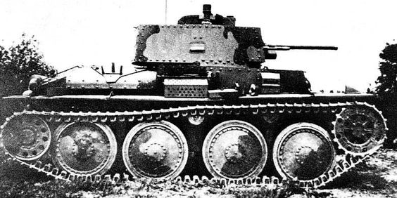 TNH-Sv - export version of the tank in Sweden, 1940