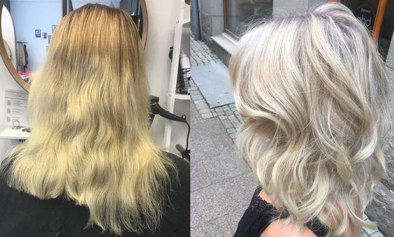 gult hår hjälp