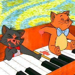 ピアノで遊ぶトゥルーズとベルリオーズ
