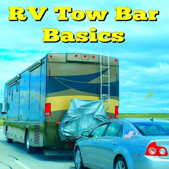 rv tow bar basics how to get the best value in towing a car behind your rv rv motorhome. Black Bedroom Furniture Sets. Home Design Ideas