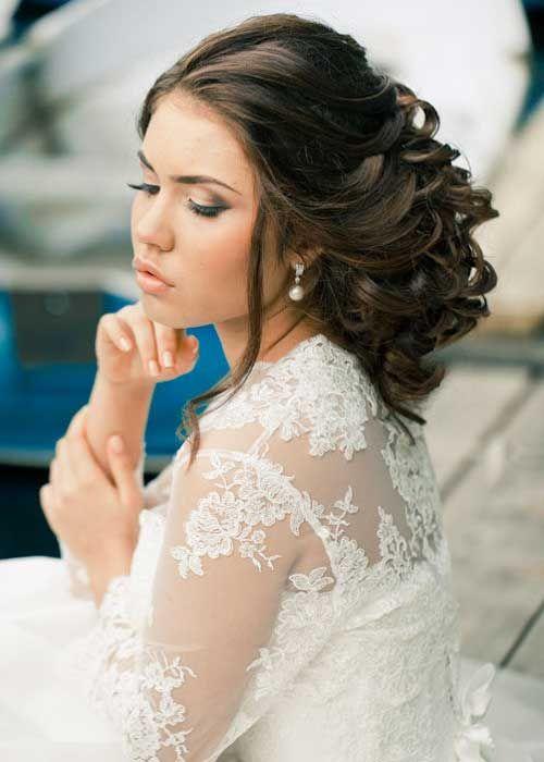 Frizure za vencanje duga kosa
