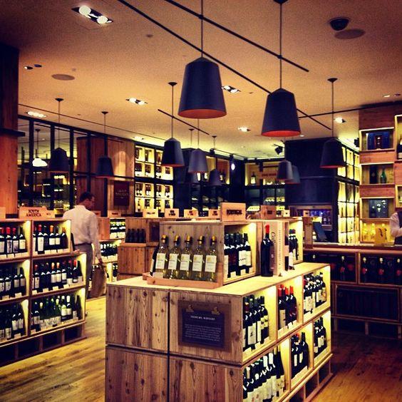 Selfridges new wine store in London