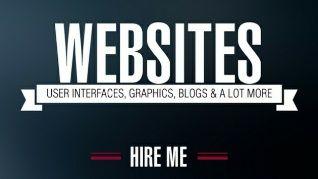 Flyer template sitios web