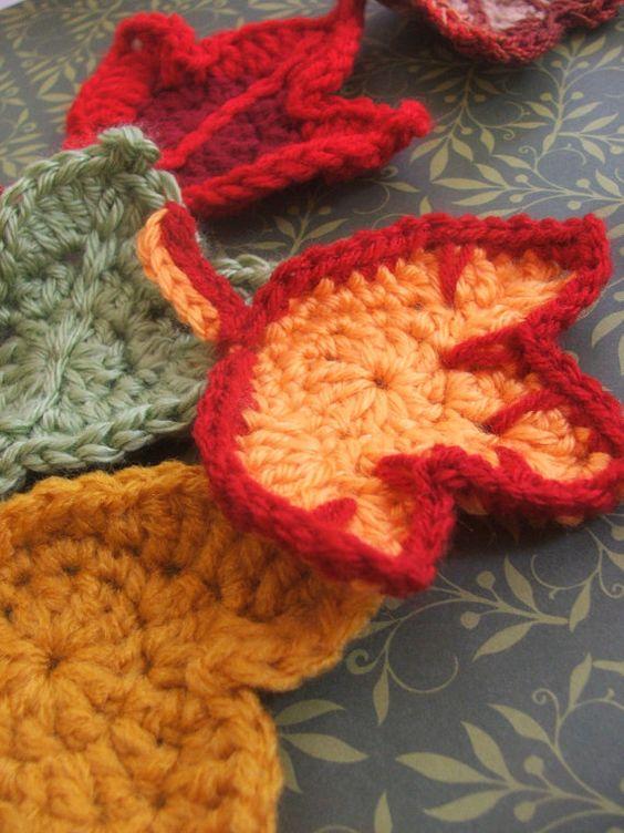Free Crochet Pattern For Maple Leaf : Pinterest The world s catalog of ideas