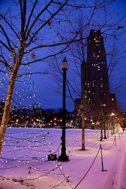 Holidays at Schenley Plaza by Melissa @ PPC, via Flickr