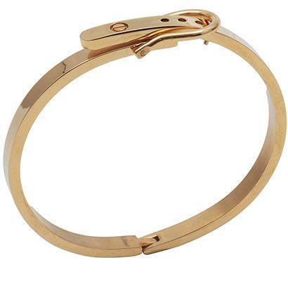 Bracelete cinto fivela