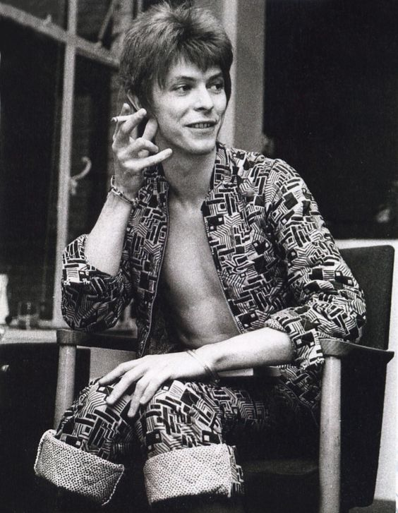 David Bowie by Barrie Wentzell, 1972