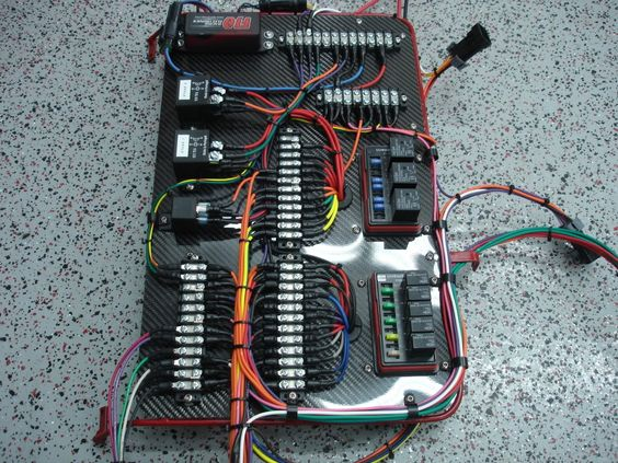 image result for custom automotive wiring auto pinterest Simple Auto Wiring Diagram  Electrical Wiring Accessories Wiring Harness Relay Wiring