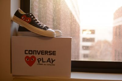COMME des GARCONS PLAY×converse CT70 High & Low入荷☆