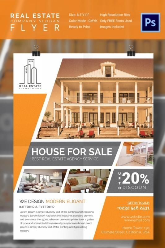 Free Apartment Flyer Templates Sale Flyer Real Estate Flyer Template Flyer
