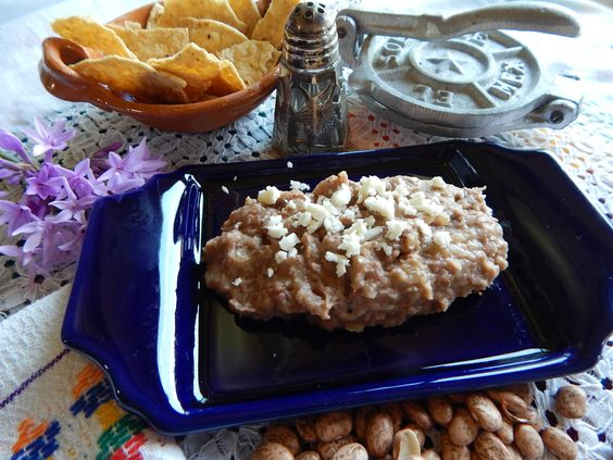 Authentic Mexican Refried Beans. How to Make Mexican Refried Beans, ,
