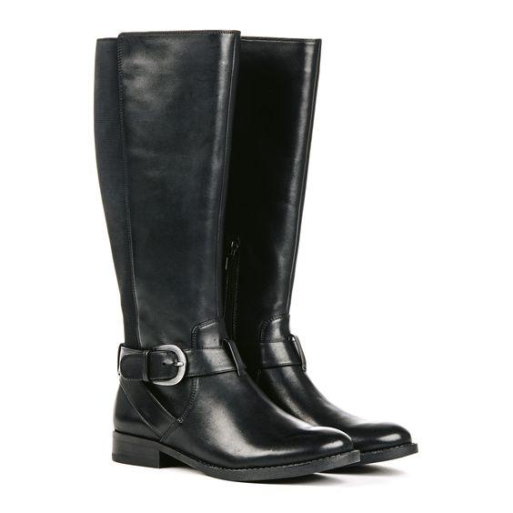 Dressy Black Boots