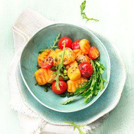 Sweet Potatoes   Süßkartoffel-Gnocchi