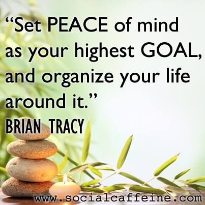 Do you have the right peace of mind? #Cool #Calm #Collected
