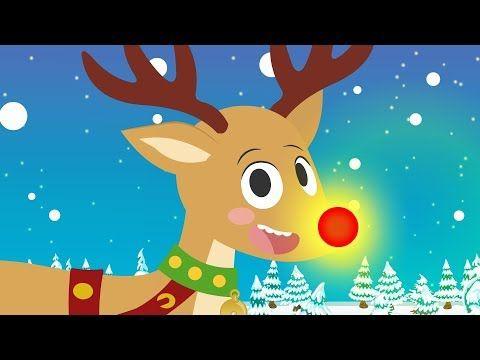 Youtube Cancion De Navidad Villancico Reno De La Nariz Roja