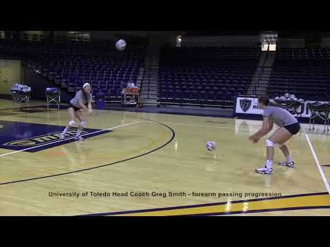 Univeristy Of Toledo Volleyball Passing Progression Youtube Coaching Volleyball Volleyball Volleyball Clubs